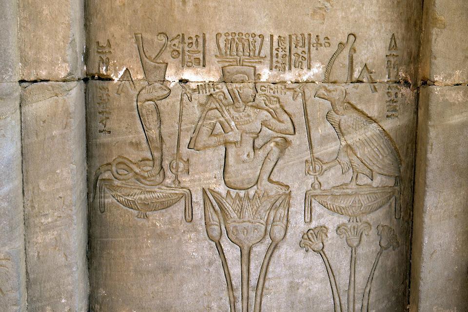 Dendérah et le grand temple d'Hathor , Ägypten