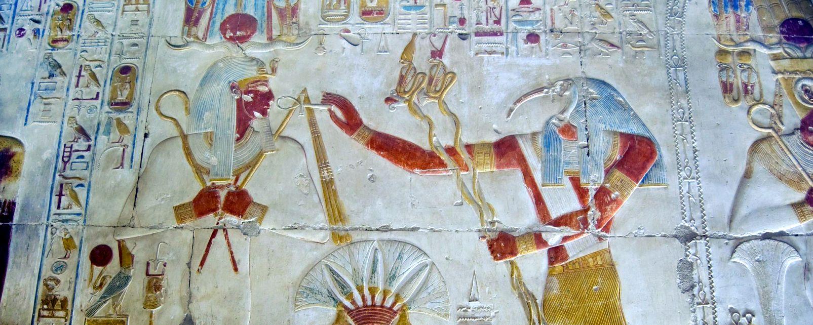 Les sites, thoth, osiris