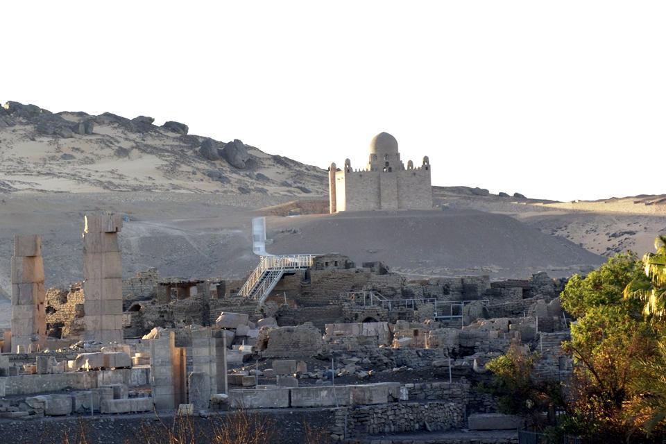 Le mausolée d'Aga Khan , Egypte
