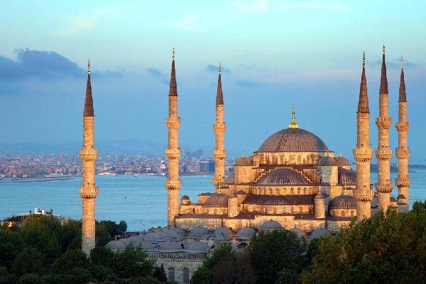 La Mosquée Bleue , Turchia