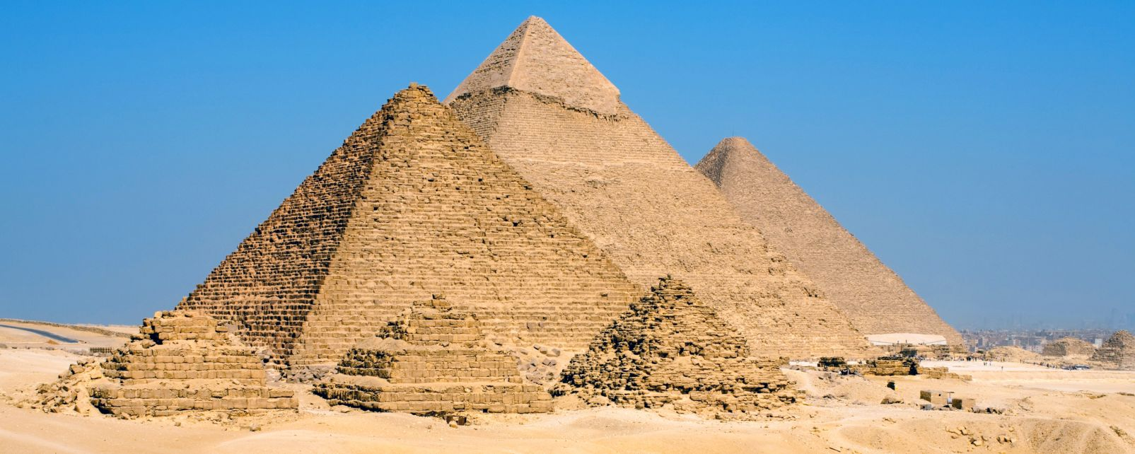Le piramidi di Giza, Le piramide di Giza, I siti, Il Cairo, Egitto