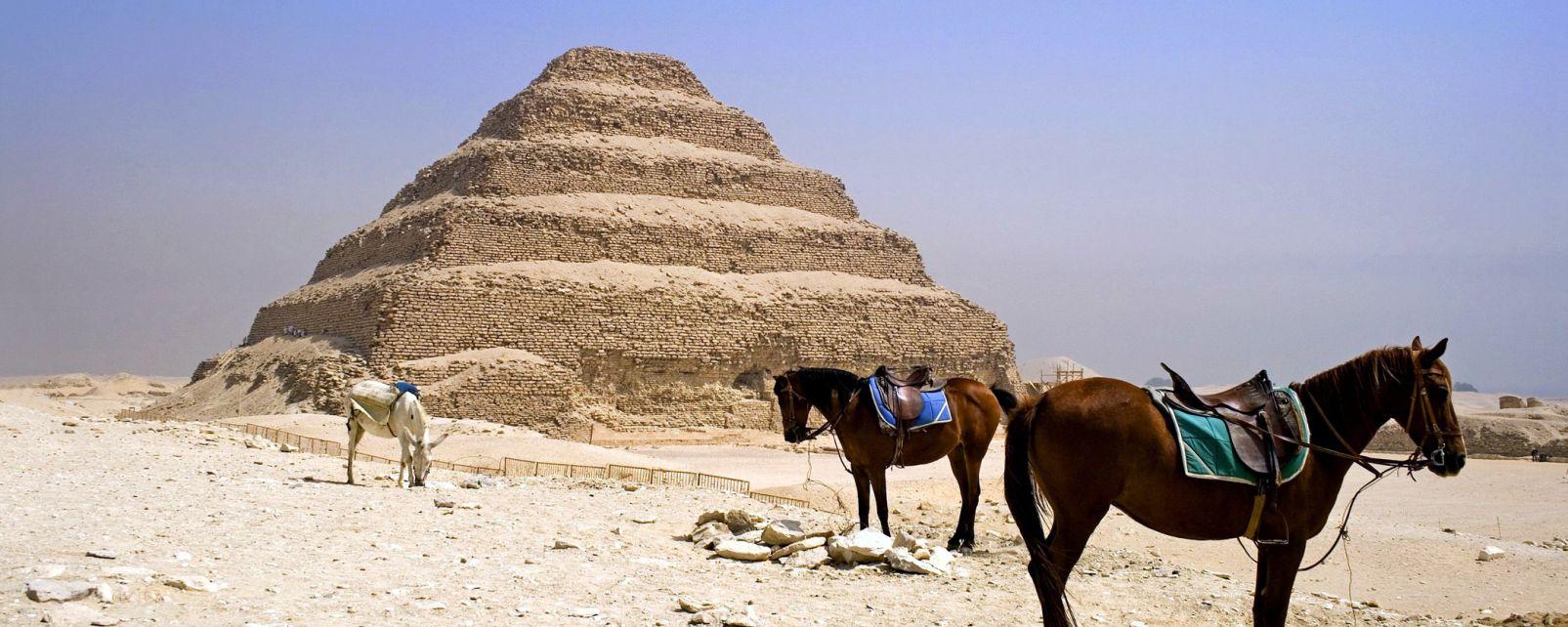 Il complesso funerario di Djoser, La necropoli di Saqqarah, I siti, Egitto