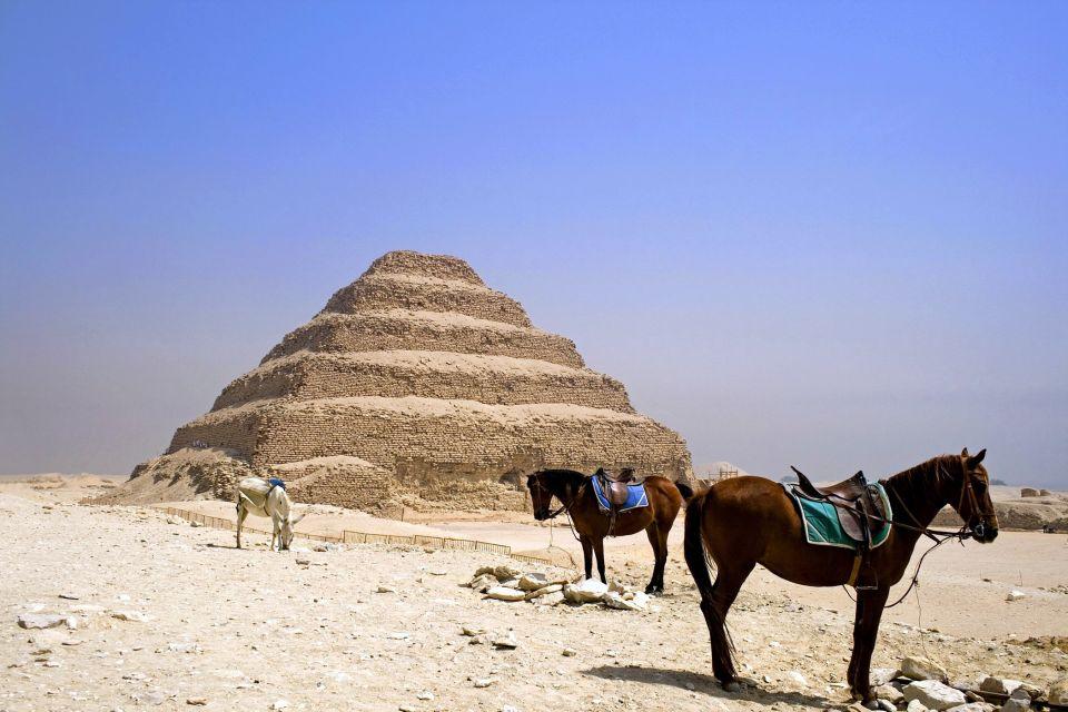Le complexe funéraire de Djéser, La nécropole de Saqqarah, Les sites, Egypte