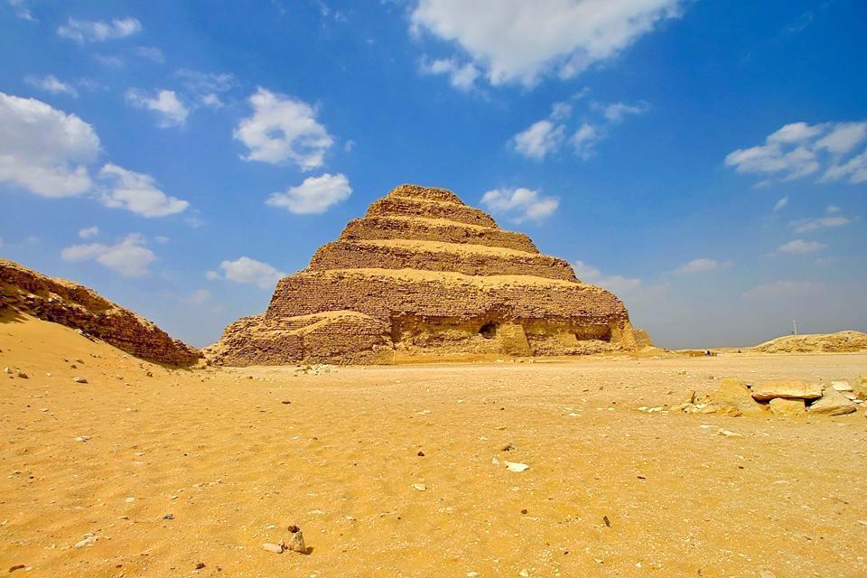 La nécropole de Saqqarah , Ägypten