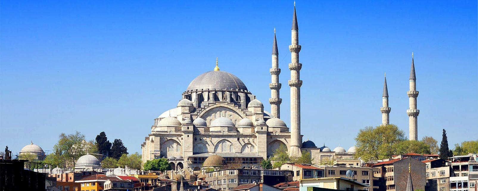 The Süleymaniye Mosque - Turkey
