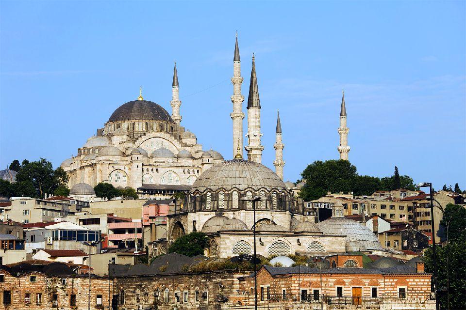 La Mosquée de Soliman le Magnifique , Die größte Moschee , Türkei