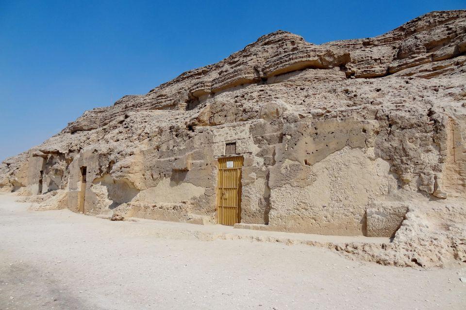 La nécropole de Beni Hassan à Al-Minya, Les sites, Egypte