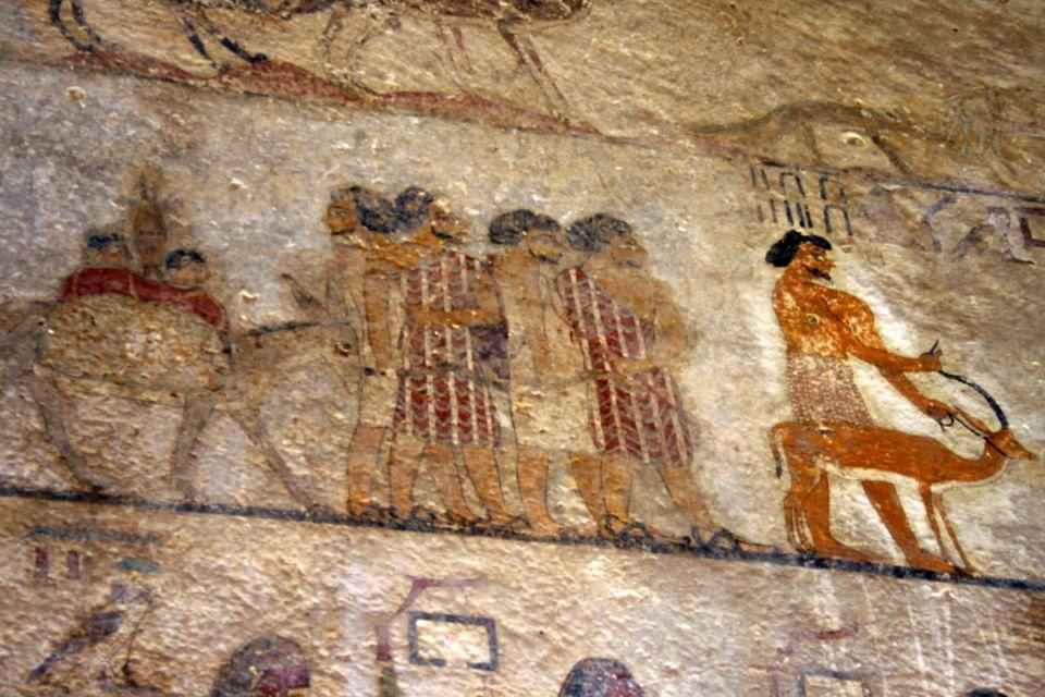 , La nécropole de Beni Hassan à Al-Minya, Les sites, Egypte