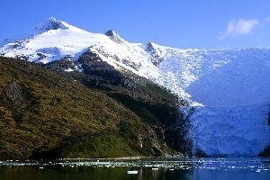Los glaciares , Chile