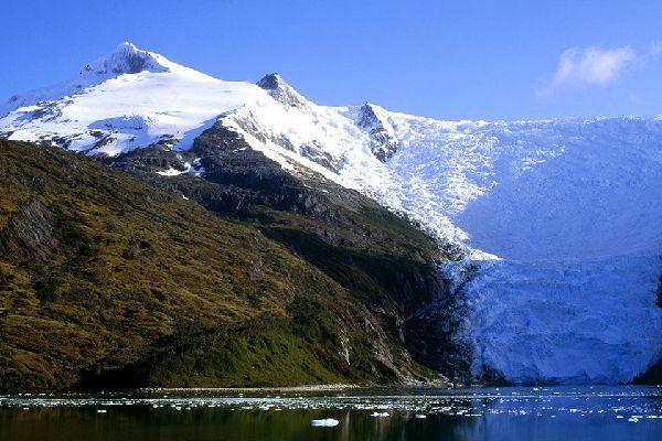 The glaciers , Chile