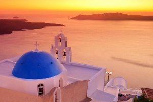 Les couchers de soleil, Les îles, Les couchers de soleil, Cyclades