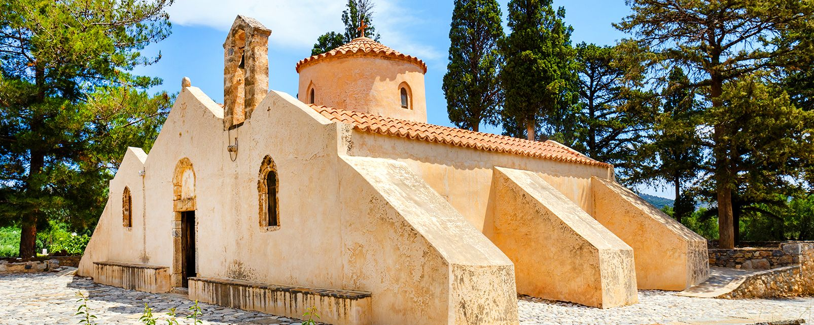 , Panagia Kera church, Monuments, Crete