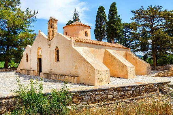 L'église byzantine de Panagia Kera , Griechenland