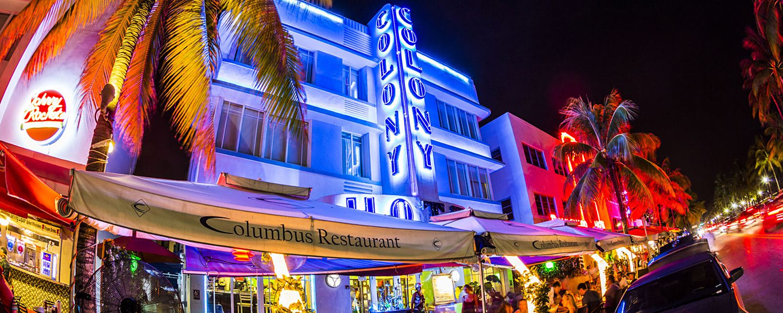 Ocean Drive et South Beach , Le temple de l'art déco , Etats-Unis