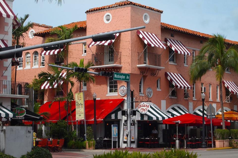 Espanola Way, Miami , United States of America