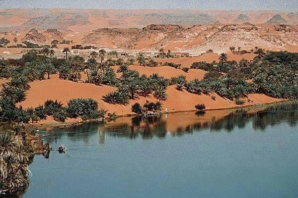 Les lacs d'Ounianga, Landscapes, Chad