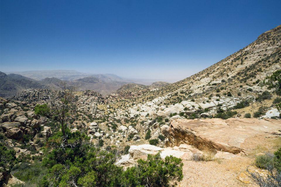 Les paysages, parc, national, Dana, reserve, Jordanie, moyen-orient
