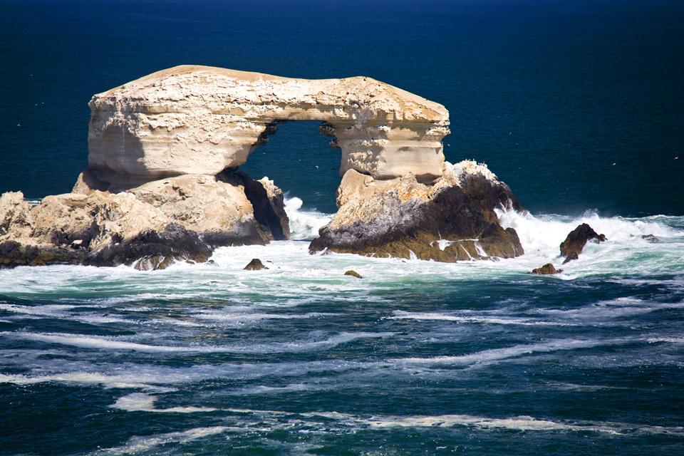 La costa sur , Chile