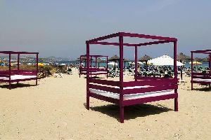 La playa d'Em Bossa à Ibiza, Les côtes, La playa d'Em Bossa, Baléares