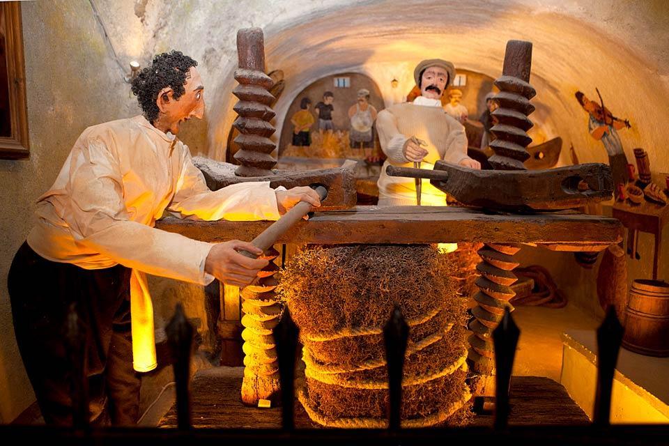 Le Musée du vin à Santorin, Les monuments, Le musée du vin, Cyclades