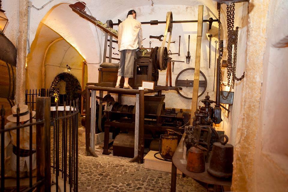 Le Musée du vin à Santorin, Les monuments, Le musée du vin à Santorin, Cyclades