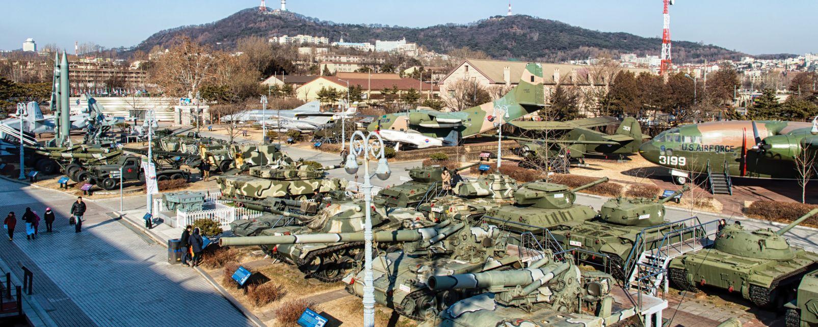 , Le musée des atrocités de guerre américaines, Museums, South Korea