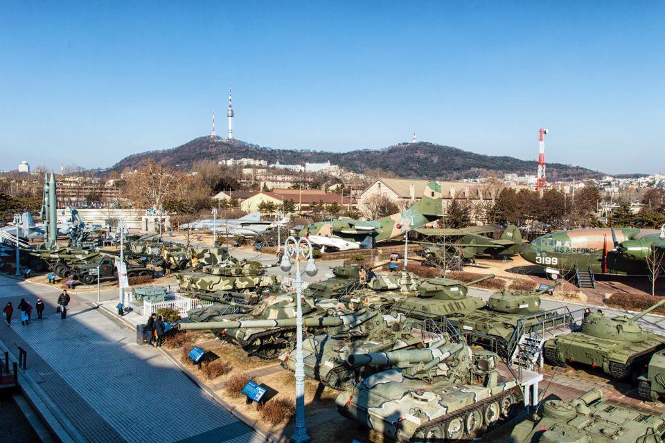 , Il museo della atrocità delle guerre americane, I musei, Corea del Sud