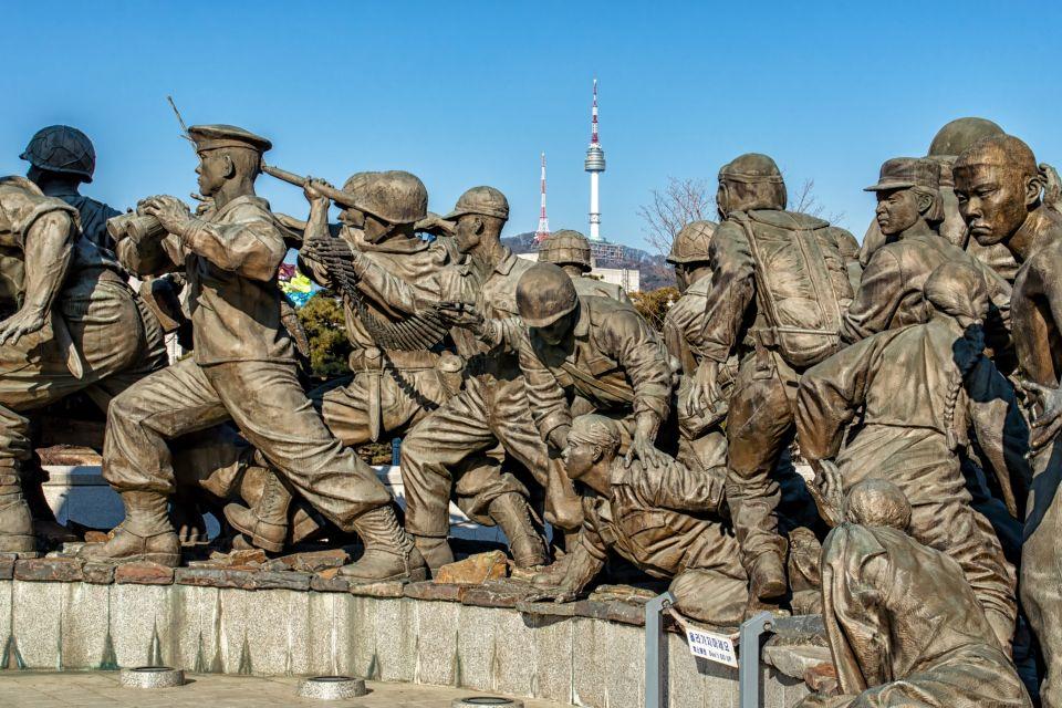 Il museo della atrocità delle guerre americane, I musei, Corea del Sud