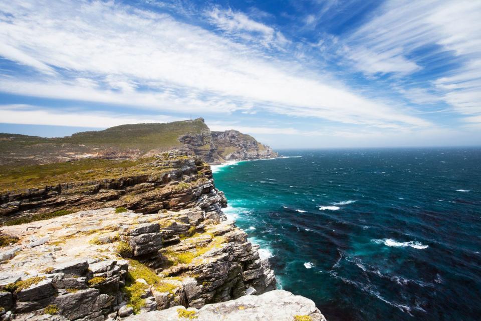 La riserva del Capo di Buona Speranza , Pranzo alla riserva di Buona Speranza , Sudafrica