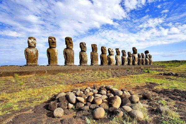 L'isola di Pasqua , I moai dell'Isola di Pasqua , Cile
