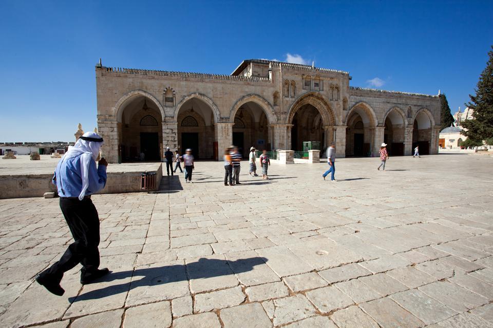 La spianata delle Moschee , Territori palestinesi
