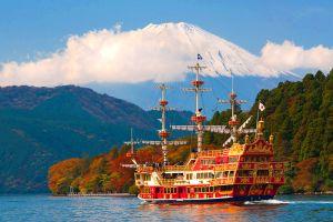 Les excursions, Hakone, japon, asie, téléphérique, Owakudani, fuji, mont