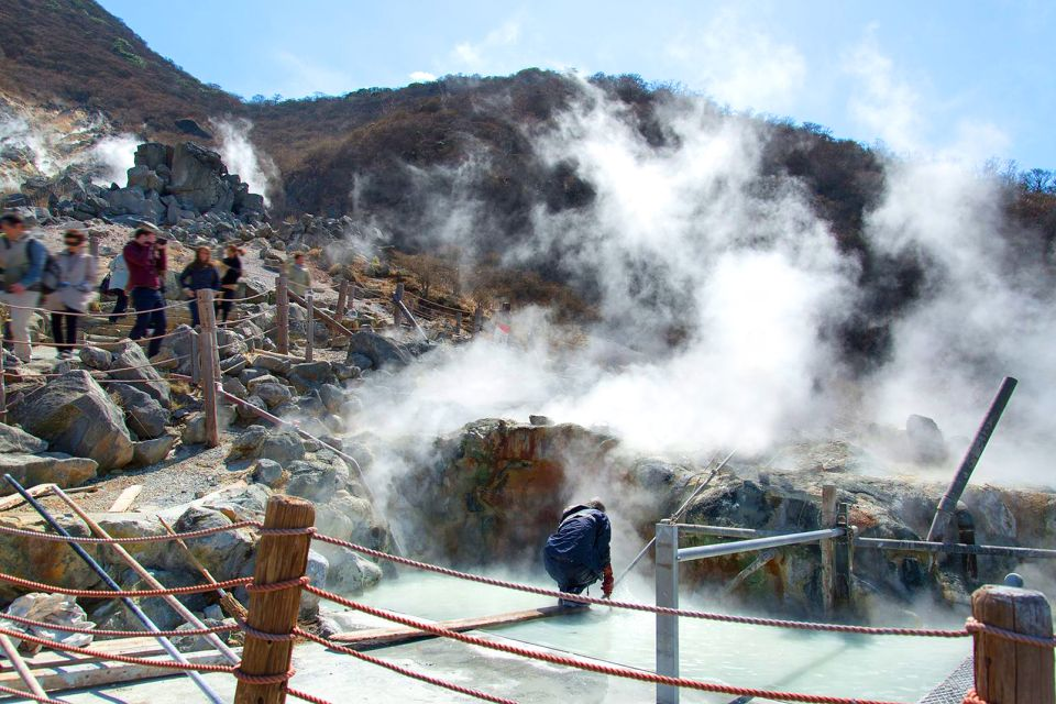 The hot springs of Owakudani, Hakone, Excursions, Hakone, Japan