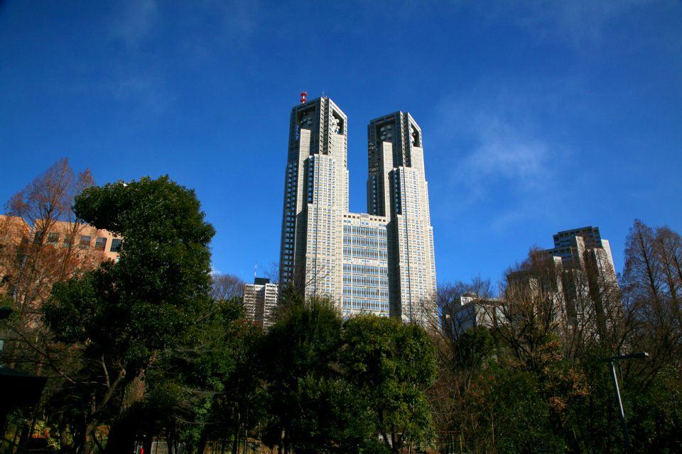 TOKYO- El Ayuntamiento , Shinjuku Central Park , Japón