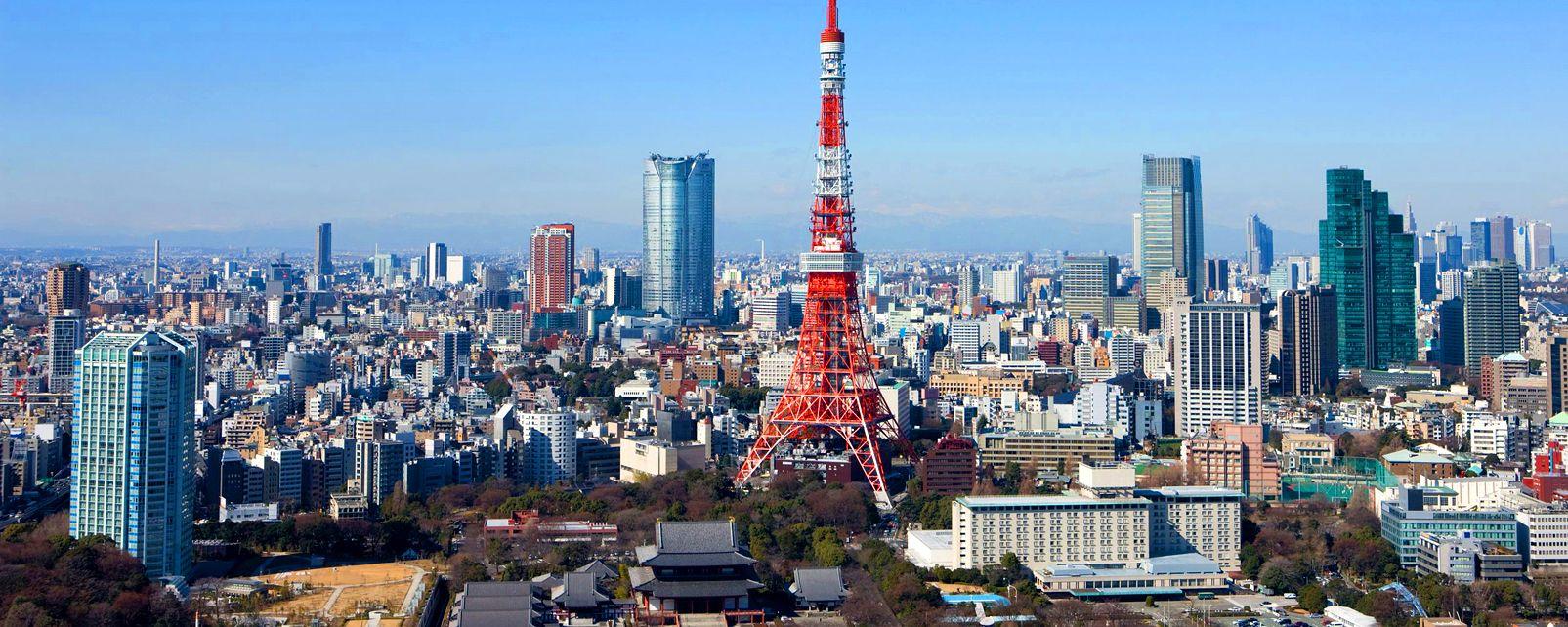 Tokyo La Tour De Tokyo Japon
