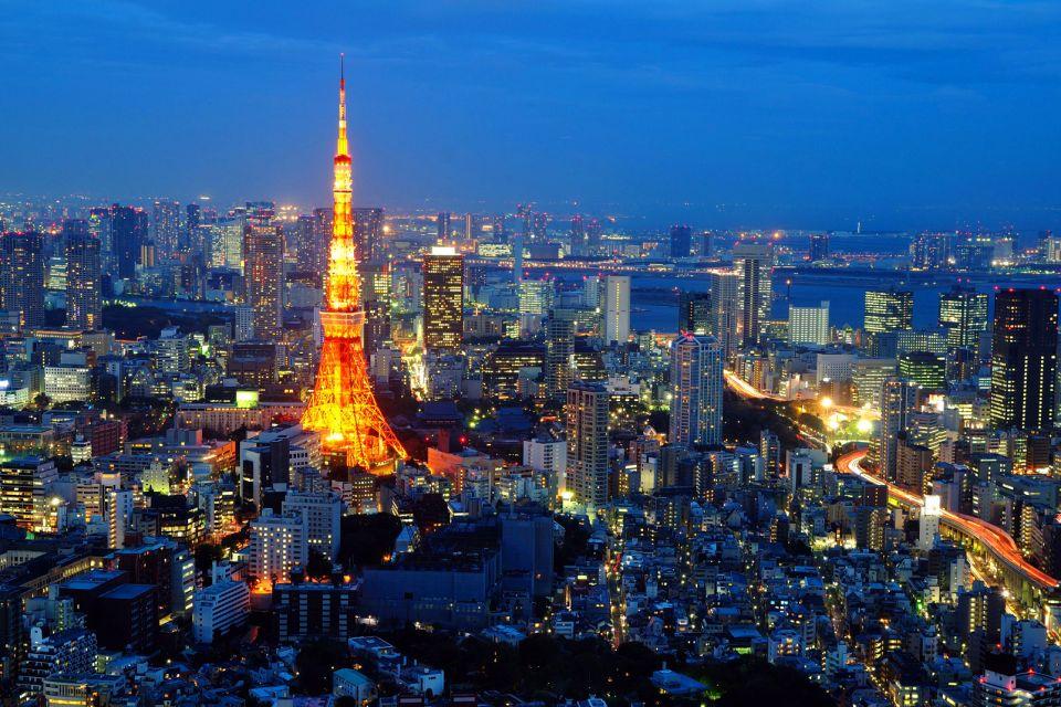 Tokyo- La Tour de Tokyo , Luci di stagione , Giappone