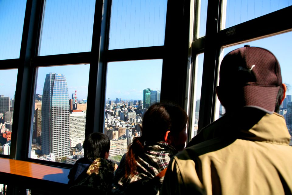 Tokyo Tower , One tower, two observation decks , Japan