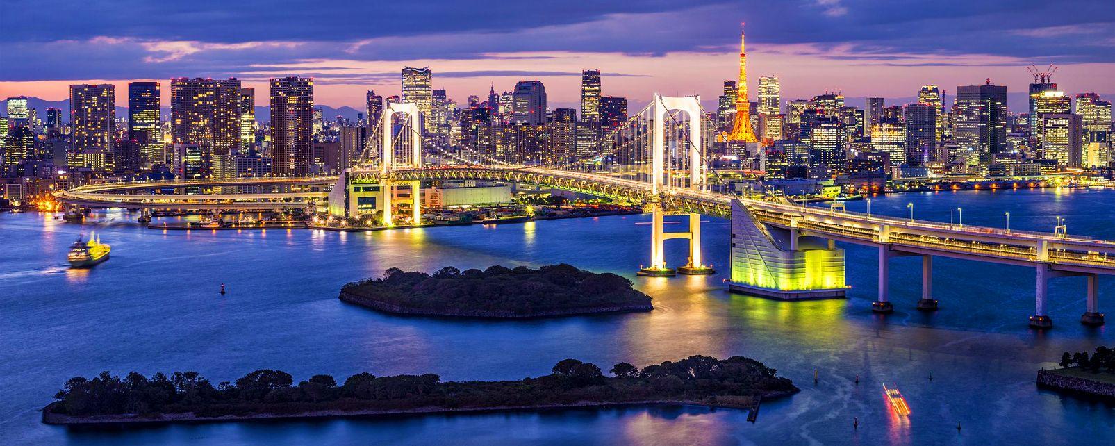 Tokyo's urban landscape , Tokyo's urban scenery , Japan