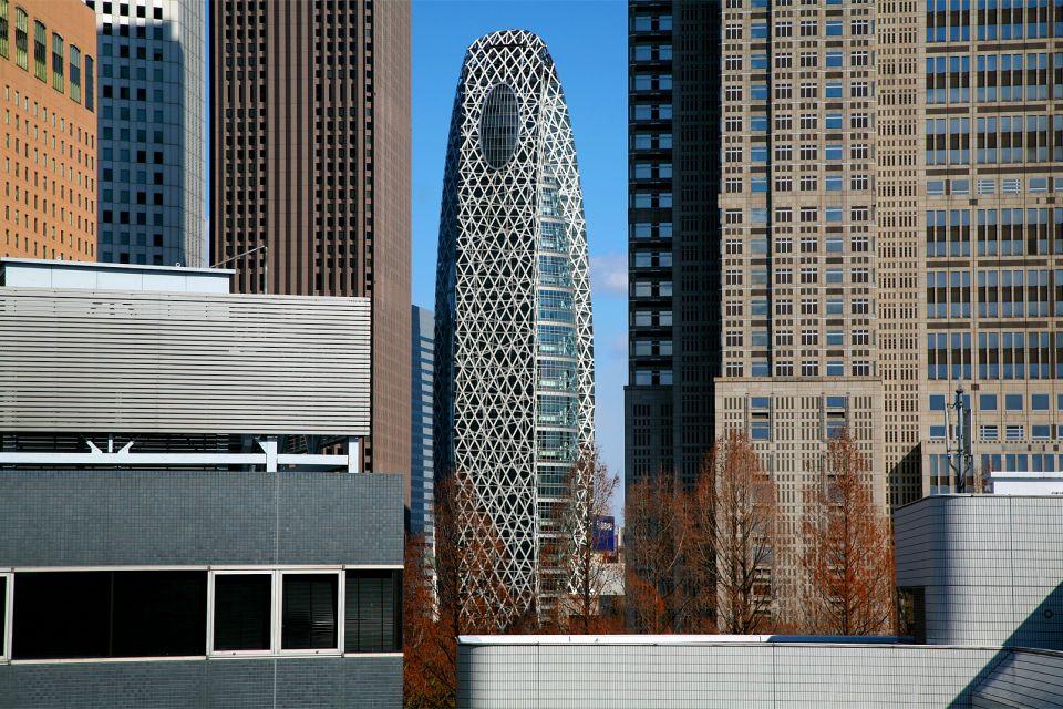 TOKIO- Los paísajes urbanos , Los rascacielos de Shinjuku , Japón