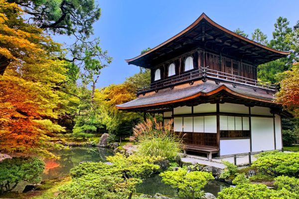 KYOTO , Ginkaku-ji, il Padiglione d'argento, Kyoto , Giappone