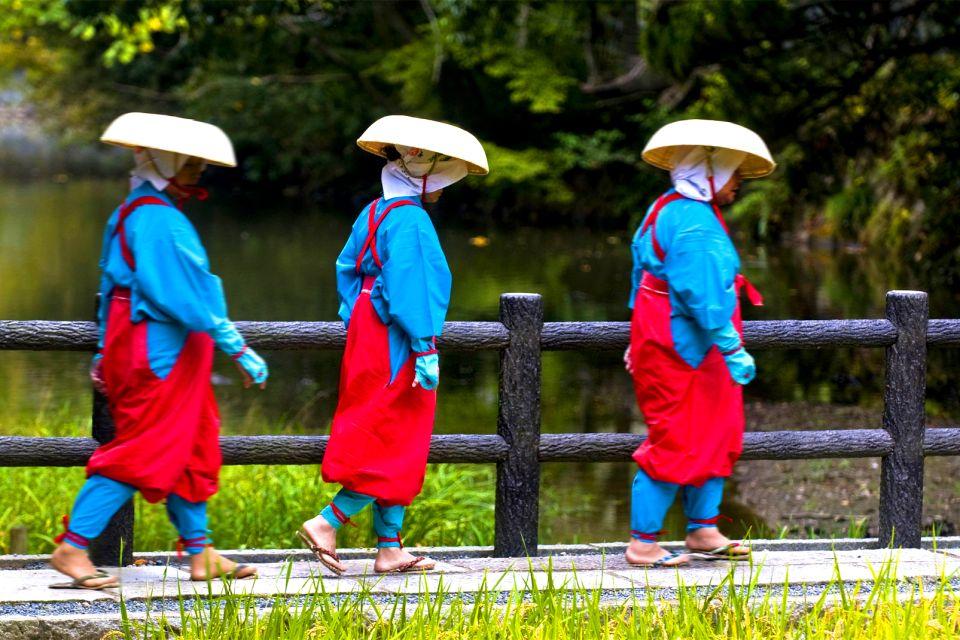 KYOTO , La ceremonia del arroz , Japón