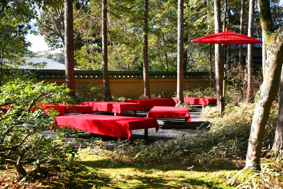 Kinkakuji, Kyoto , A tea house , Japan