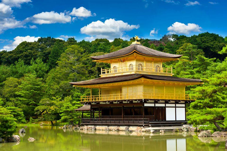 KYOTO- Kinkaku-ji , Le Kinkaku-ji ou Pavillon d'or , Japon