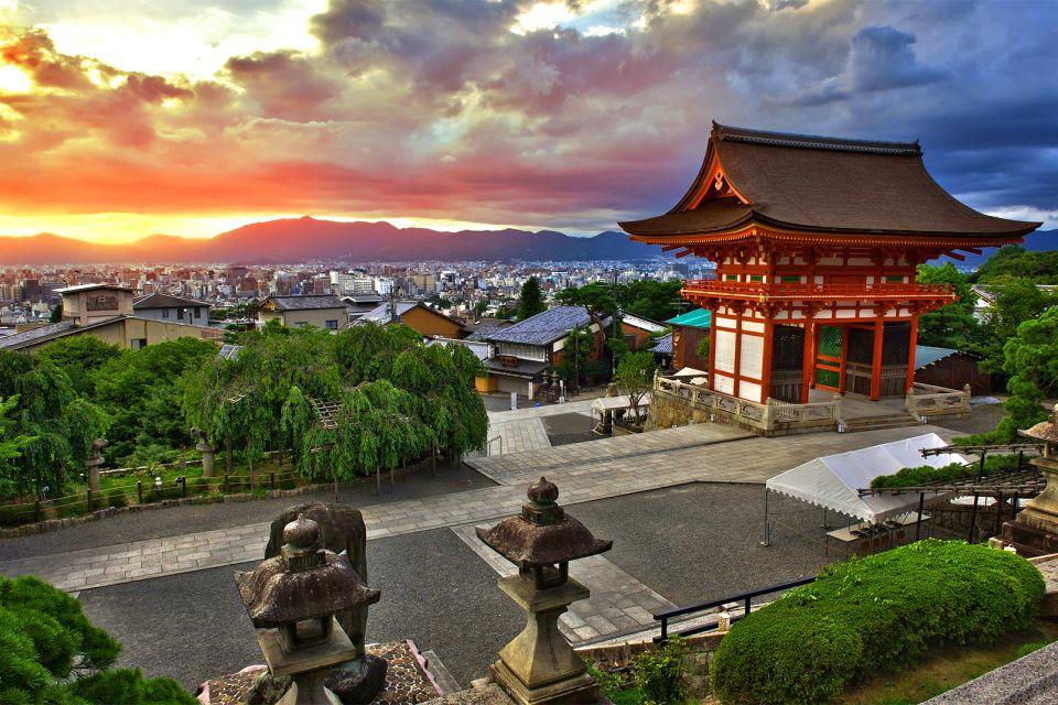 Kyomizudera, Kyoto , Panoramic views of Kiyomizu-dera , Japan