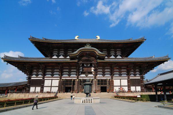 NARA- Todaiji , El centro budista de Japón , Japón