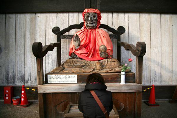 NARA- Todaiji , Un templo que continúa en activo , Japón