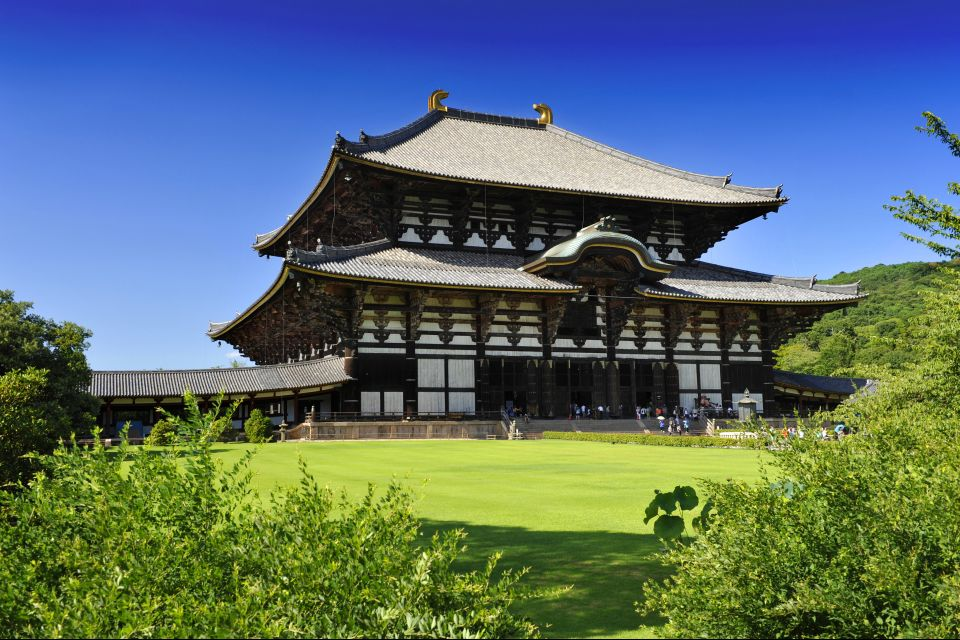 NARA- Todai Ji , Le Todai-ji à Nara , Japon