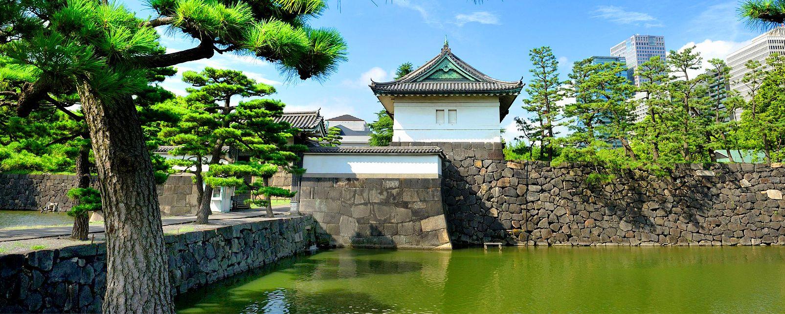 Tokyo le palais de l 39 empereur japon for Dujardin imperial
