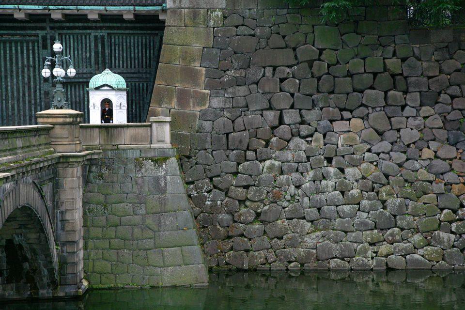 TOKYO- Le palais de l'Empereur , Il ponte Nijubashi sotto osservazione , Giappone