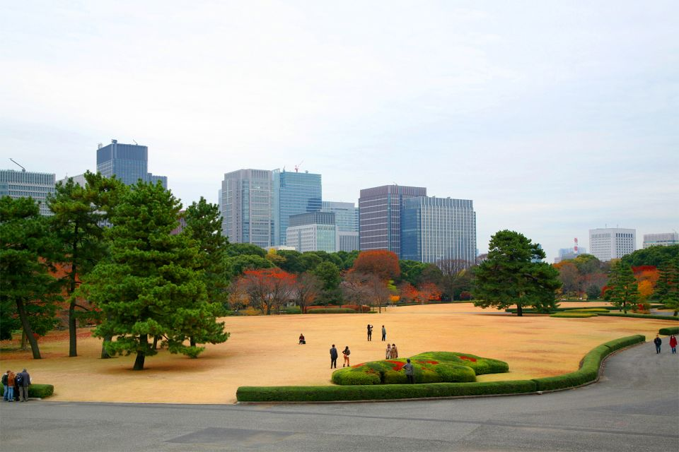 The Emperor's Palace, Tokyo , The Imperial Palace garden , Japan